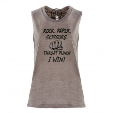 Rock Paper Scissors Festival Muscle Tank