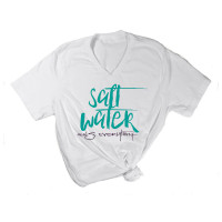 Salt Water Heals Everything V-Neck