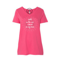 Salt in the Air Sand in my Hair Curvy Collection V-Neck