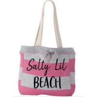 Salty Lil Beach- Beach Bag