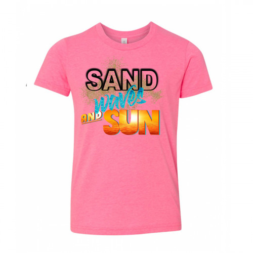 Sand Waves and Sun Youth T-Shirt