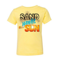 Sand Waves and Sun Toddler T-Shirt