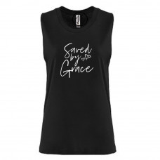 Saved By Grace Festival Muscle Tank