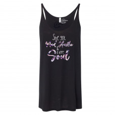 She Got Mad Hustle Slouchy Tank