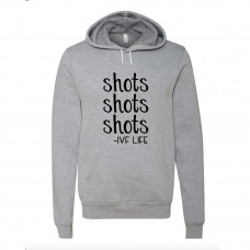 Shots IVF Life Fleece Hoodie - Parental Hope