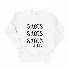 Shots IVF Life Drop Sleeve Sweatshirt - Parental Hope