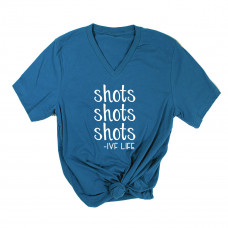 Shots IVF Life V-Neck - Parental Hope