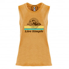 Live Simple Festival Muscle Tank