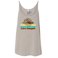 Live Simple Slouchy Tank