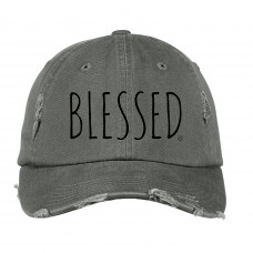 Simply Blessed Distressed Hat