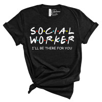 Social Worker Crew Neck T-Shirt