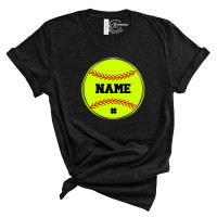 Softball Name Custom T-Shirt
