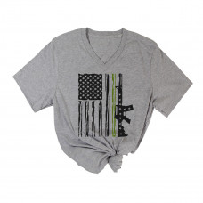 Soldier Flag V-Neck