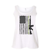 Soldier Flag Curvy Collection Tank