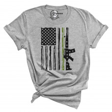 Soldier Flag Crew Neck T-Shirt