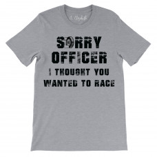 Sorry Officer Crew Neck T-Shirt