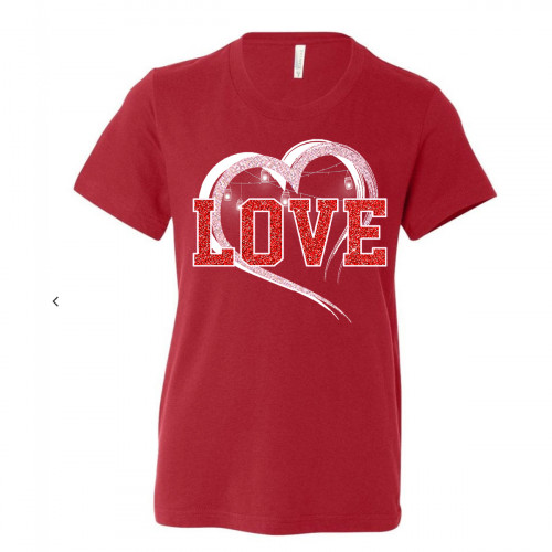 Sparkle Love Youth T-Shirt