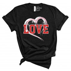 Sparkle Love Crew New T-Shirt