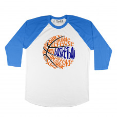 Basketball Words Raglan
