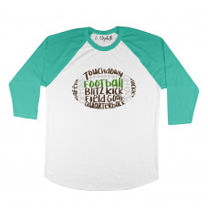 Football Words Raglan