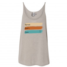 Spread God's Love Slouchy Tank