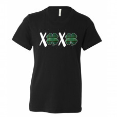 St Patrick's Day Plaid XO Toddler T-Shirt