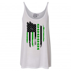 St.Patrick's Day Flag Slouchy Tank