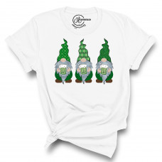 St.Patty's Day Gnomes Crew New T-Shirt