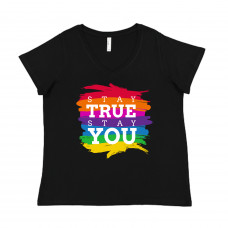 Stay True Stay You Curvy Collection V-Neck
