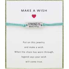 Strong Is Beautiful Charm Bracelets