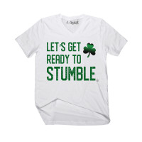 Let's Get Ready to Stumble V-Neck