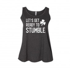 Let's Get Ready to Stumble Curvy Collection Tank