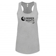 ~SALE~ Summer Nights Tank - 2X- Tahiti Blue
