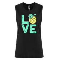 Summer Pineapple Festival Muscle Tank
