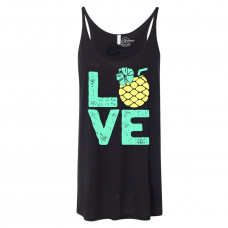 Summer Pineapple Slouchy Tank