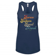 Sunrise Sunburn Sunset Repeat Tank Top
