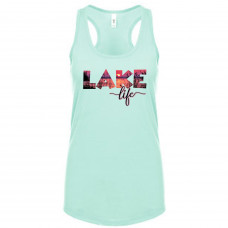 Sunset Lake Life Tank Top