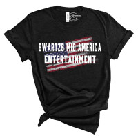 Swartzs Mid America Entertainment Crew Neck T-Shirt