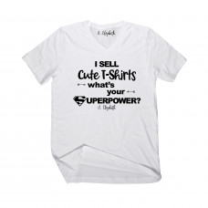 T-Shirt Superpower V-Neck