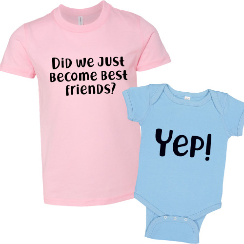 Did We Just Become Best Friends Youth T-Shirt