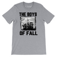 The Boys of Fall Black and White Crew Neck T-Shirt
