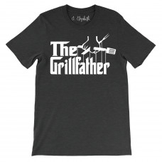 The Grillfather T-Shirt- Mens