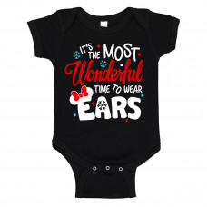 The Most Wonderful Time To Wear Ears Onesie