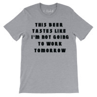 This Beer Crew Neck T-Shirt