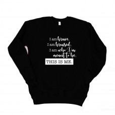 This is Me Unisex Drop Sleeve Sweatshirt