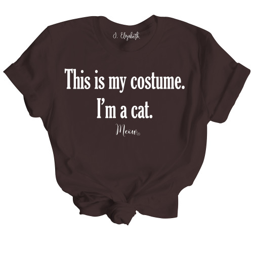 This is my Costume. I'm a Cat.