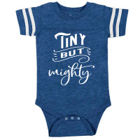 Tiny But Mighty Football Onesie