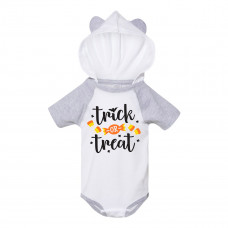 Trick or Treat Onesie with Ears