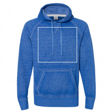 Twisted Royal Vintage Zen Fleece Hooded Sweatshirt