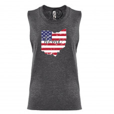 US Flag States of America Festival Muscle Tank (ALL STATES!)